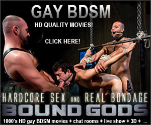 BOUND GODS! GAY BDSM!
