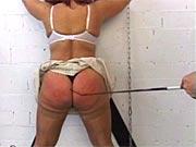 Mature get spanked