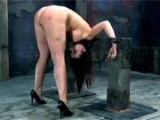 Slutty Sarah serving Master