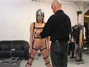 Slave with iron mask