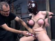 Hard tied electro torture