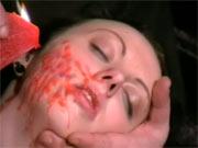 Facial hot waxing