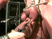 Master tortures gay sub