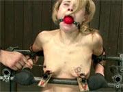 Tati Russos nipples torture