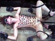 Sasha Grey restrained and tortured