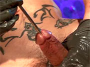 Urethral play in the bar