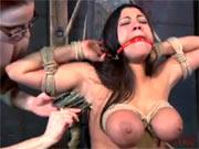Hanged lesbian sub