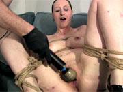 Bondage casting orgasm