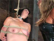 Two crazy bitches bondage
