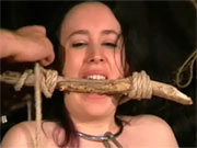 Medieval torture of sub girl