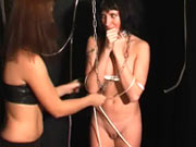 Slavegirl natasha tied and whipped