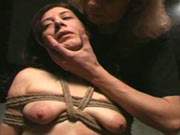 Amateur bondage session in Berlin