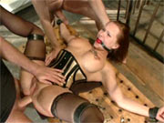 Slave wife group fucked