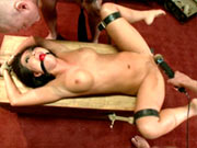 Asa Akira in group anal bondage sex