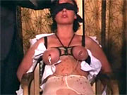 Masturbation during BDSM session